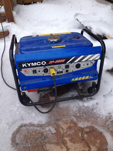 3000 watt KYMCO gas powered generator - factory direct