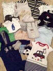 Baby boy clothes (21 items) bundle 3-6 month