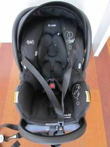 Maxi Cosi AP Mico Isofix Baby Capsule Devoted Black South Yarra Stonnington Area Preview