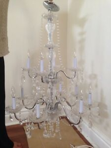 Large Crystal Chandelier - REDUCED!!!