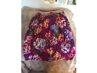 River island ladies skirt size 10