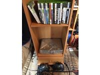 Xbox original for sale with 2 controllers & 21 games
