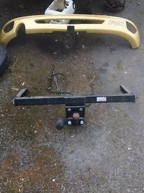 Ford Focus 5 door tow bar. Genuine witter tow bar part number F81A