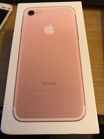 IPHONE 7 (32)GB ROSE GOLD (offers)