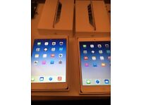 2 x iPad mini - 16gb - boxed with chargers - white