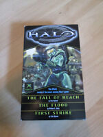 Halo Trilogy Book Set - The Fall of Reach, The Flood + 1 more