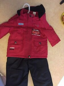 6-12 months Disney Cars snowsuit