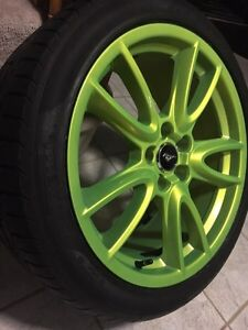 Ford Mustang rims and tires 19""""