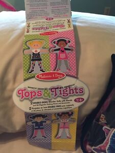 Wooden dolls with magnetic clothes - Tops and Tights  Kitchener / Waterloo Kitchener Area image 5