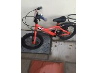 Kids goal bumper bike