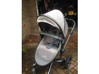Silver cross pushchair/ pram - suitable from birth
