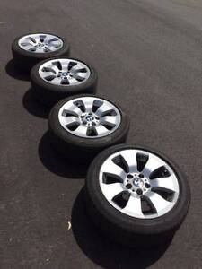 BMW 3-Series Sedan e90 Genuine 17 Inch Rims plus Tyres Ryde Ryde Area Preview