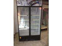 Double display fridge.