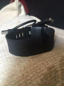 Fitbit Charge HR, black, 2 weeks old
