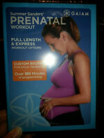 UNOPENED-Summer Sander's Prenatal Workout DVD