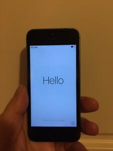 iPhone 5S 64G Space Gray