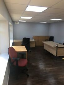 OFFICE TO LET WITH BILL & FREE WIFI WITH DESK