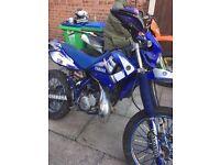 Yamaha DT125 Swap