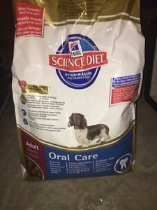 Science diet oral care food