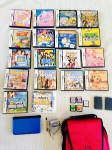 3D. XL DS  with cord, pen, case and games