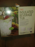 2 piece Insolated Beverage tub