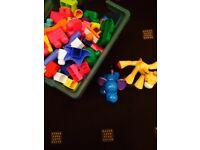 Mega blocks and two toys