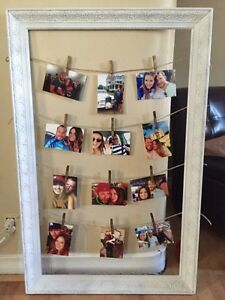 Clothespin Picture Frame West Island Greater Montréal image 1
