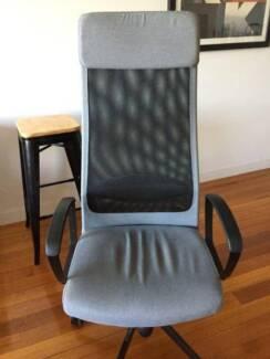 IKEA high back office chair