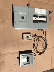Hydro Panel, Pony Panel and water line heater