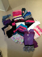 GIRL'S CLOTHING - 3 SEASONS....SIZE 4,5,6 + BOOTS, SHOES