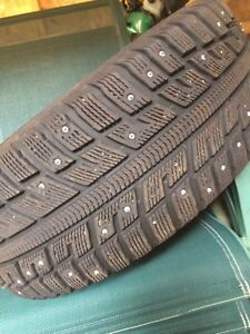 Studded tires set (195/55R15 89T)