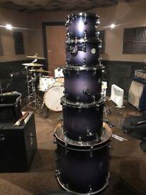 Mapex Meridian Drum Kit. 22, 16, 14, 12, 10