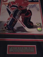 Patrick Roy Montreal Canadiens Signed Print