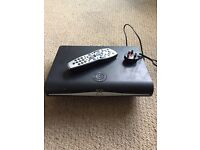 Sky + Plus HD satellite receiver box with remote