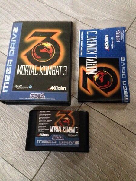Mortal Kombat 3 Sega Mega