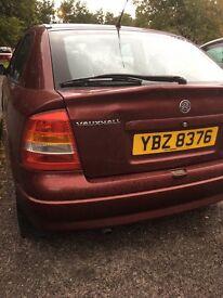 Vauxhal Astra 1.4 16v petrol