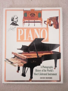 Piano: Evolution, Design and Performance [Hardcover]