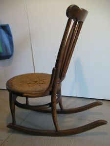 Old, wooden rocking chair Prince George British Columbia image 4