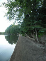 Lakefront with beach REDUCED PRICE