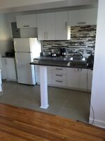 Completely renovated  4 1/2  800$