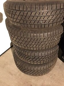 """WINTER TIRES 15"""" GREAT SHAPE"""