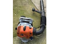 Stihl br 200 back pack leaf blower in gwo.