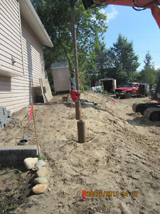 CERTIFIED SCREW PILE INSTALLER. CALL ROSS FOR A QUOTE Strathcona County Edmonton Area image 9