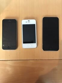 I Phone 4s 5s & 6 good condition all working