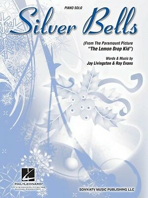 Silver Bells Sheet Music Piano Vocal NEW  000353139