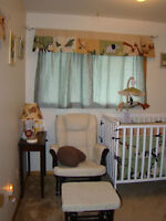 gender neutral jungle themed crib bedding and accessories