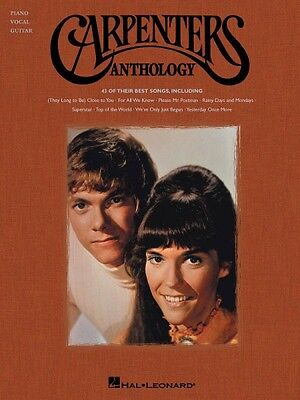 Carpenters Anthology Sheet Music Piano Vocal Guitar Songbook NEW 000306426