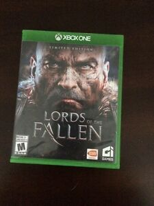 Lords of The Fallen   Xbox one  Cambridge Kitchener Area image 1