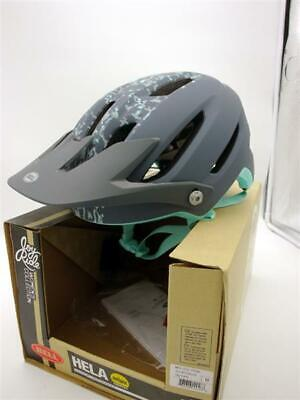 Bell Hela Mips Halbschale Fahrradhelm Mat/ Lead Stone MTB Mountainbike Helm Gr...