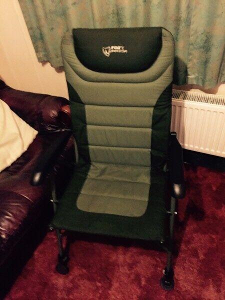 Fox fishing chair recliner